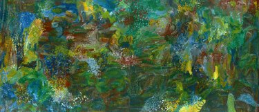 Emily Kame Kngwarreye's 'Earth's Creation I'.