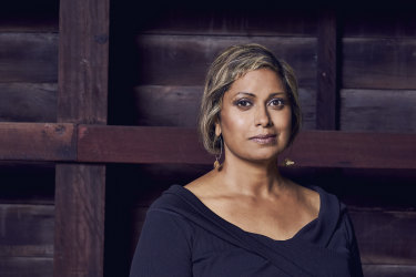 Indira Naidoo is the host of SBS's three-part documentary Filthy Rich & Homeless.