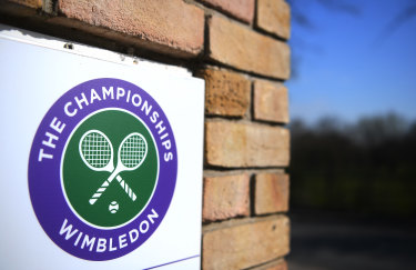 Wimbledon was cancelled this year.