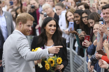 Meet and greet: Prince Harry and  Meghan in Ireland. They will visit Dubbo on October 17.