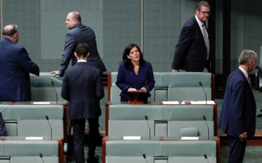 Julia Banks announced her decision to quit the Liberal Party on Tuesday.
