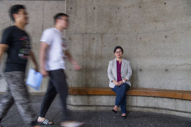 """Despite the diversity of languages spoken in Sydney, Alice Chik said: """"There is no street and very few shops in Sydney where you will not hear English."""""""