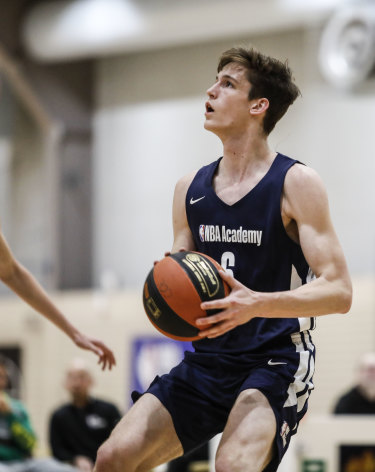 Canberra product and NBA Global Academy guard Hunter Clarke.