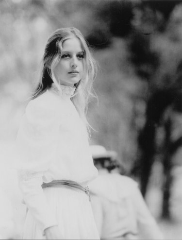 Anne Lambert as Miranda in 1975's Picnic At Hanging Rock.