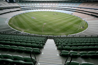 The MCG seats will soon once again be filled with fans.