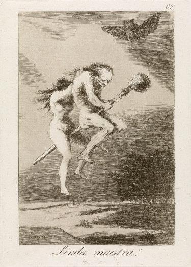 Francisco Goya's Pretty Teacher! 1797-98.