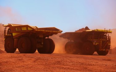 Iron ore miner Fortescue Metals was one of the best-performing stocks on the Australian Securities Exchange over the past year, with gains of more than 170 per cent.