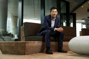 Medibank employee Ray Lui plans to take parental leave in November