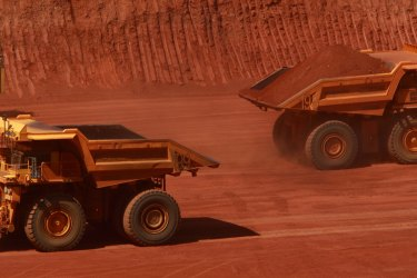 Profits in the mining sector jumped by 5.2 per cent through the March quarter to be up 22 per cent over the past year.