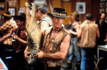 Crocodile Dundee did much to help the understanding of Australian slang around the world.