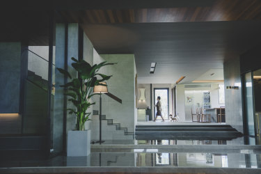 ''The specific vibe of this rich house really had to reflect and amplify the characters,'' says Korean directorBong Joon-ho of his architectural requirements for Parasite.
