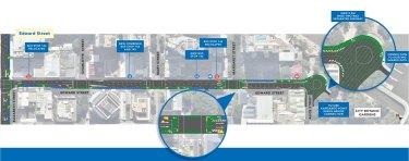 The Edward Street plan.