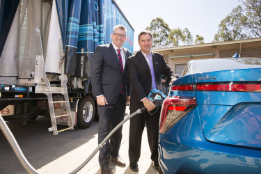 The CSIRO is working to build Australia's nascent hydrogen industry.