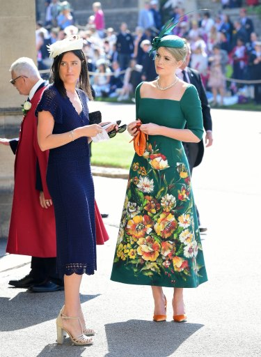 Lady Kitty Spencer's outfit at Harry and Meghan's wedding made her internationally famous.