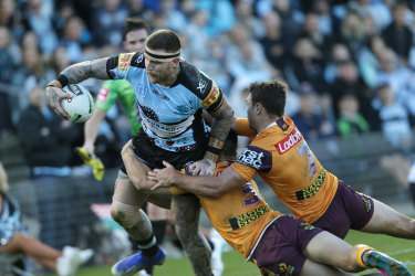 Cronulla coach John Morris has stood up for injured star Josh Dugan after he went down with a hamstring injury.
