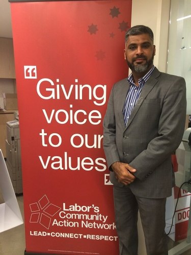 Former Labor candidate for Murray, Dr Imran Syed.