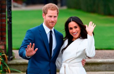 With all of the stresses of their big day, it's a wonder Harry and Meghan are still upright.