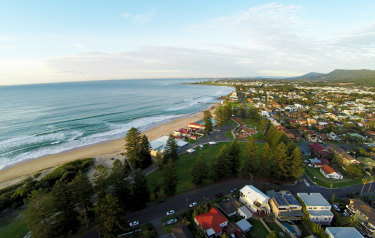 Thirroul, in the Ilawarra region, south of Sydney, is a popular sea change location.