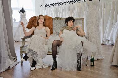 Holliday Grainger and Alia Shawkat in Animals.