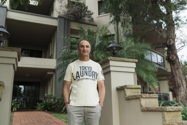 Daniel Biro said the Sutherland Shire Council's attempt to raise rates levied on apartments by almost 50 per cent is unfair.