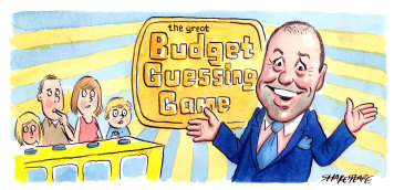 Treasurer Josh Frydenberg will deliver his first federal budget on Tuesday. Illustration: John Shakespeare