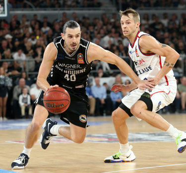 Chris Goulding is hot property at Melbourne United.