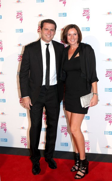 Karl Stefanovic split with wife of 21 years, Cassandra Thorburn, in August.