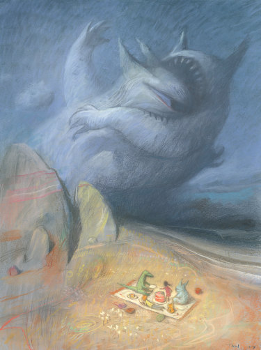 Shaun Tan, Pacifist.