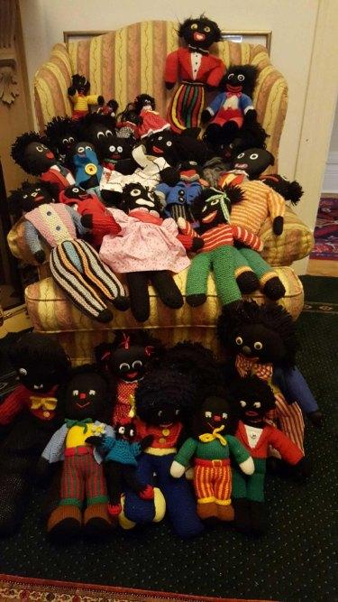 Jeff Kennett's happy golliwog collection.