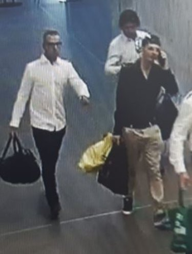 Police believe these are the men they would like to speak to.