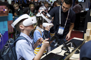 Teachers become 'learning designers' as virtual reality and artificial intelligence enter the classroom.
