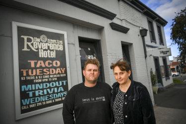 Matt Bodiam and partner Melanie took over The Reverence Hotel in 2012.