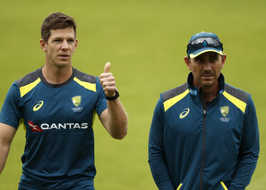 Tim Paine says he'll be good to go for the Ashes.
