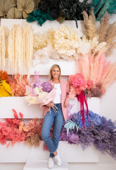 Since launching a business during COVID-19 selling preserved flower arrangements out of Melbourne, Elleni Pearce's fortunes have bloomed.