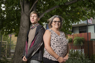 Aunty Lee Healy  and Harley Dunolly-Lee are on a mission to preserve traditional languages.