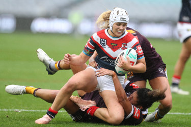 Roosters star Hannah Southwell described the NRL bosses' response to the request as pitiful.
