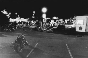 The aftermath of the massacre on September 2, 1984.