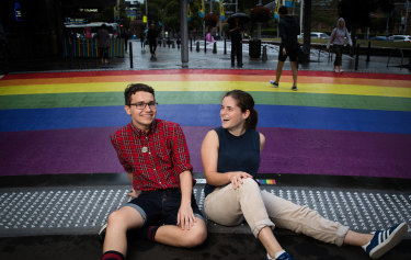 Teenagers Felix Parker and Genevieve Cox plan to attend next weekend's Mardi Gras parade.