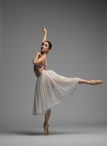 Lucy Green, 30, will play the lead part of Princess Aurora in Queensland Ballet's Sleeping Beauty.