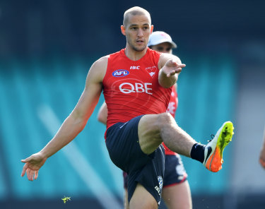Another blow: Sam Reid suffered an Achilles tendon injury in the NEAFL on his return from a quadriceps strain.