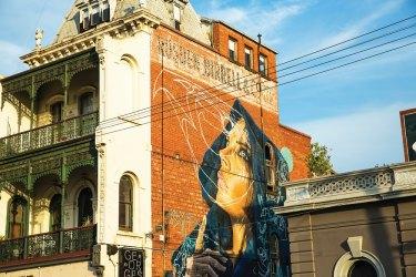 The street art of Fitzroy.