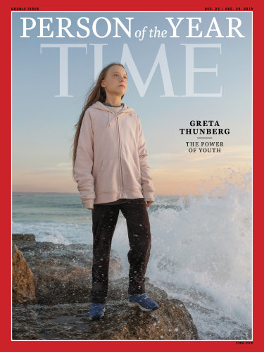 Greta Thunberg has been named Time's Person of the Year.