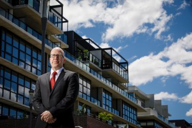 Strata law expert Chris Kerin, pictured above, has advised more than 80 owners corporations on matters relating to building defects in the past eight years.