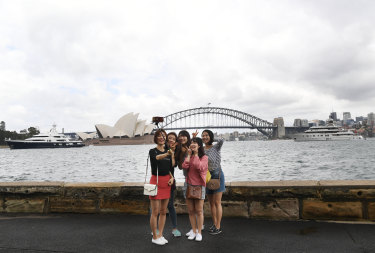 Pandemic-related closures have hit the tourism sector, with the NSW economy shrinking for the first time on record.