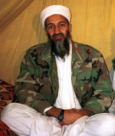 Before he was killed ... an undated file photo of al Qaida leader Osama bin Laden.