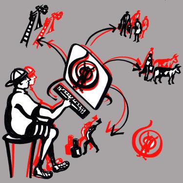 Illustration: Kerrie Leishman