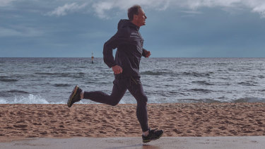 "Health Minister Greg Hunt says running is ""like oxygen"", vital to his mental wellbeing."