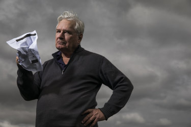 Ken McLeod was shocked by the response he received when he wrote to Facebook Australia.