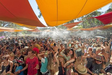The Rainbow Serpent Festival.