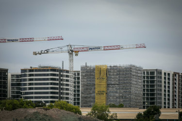 Crowded houses: Sydneysiders are very worried about overdevelopment.
